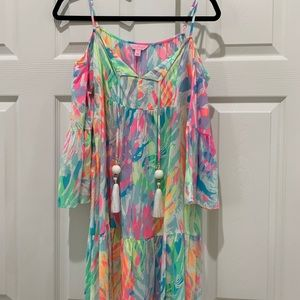 Lilly Cold shoulder dress